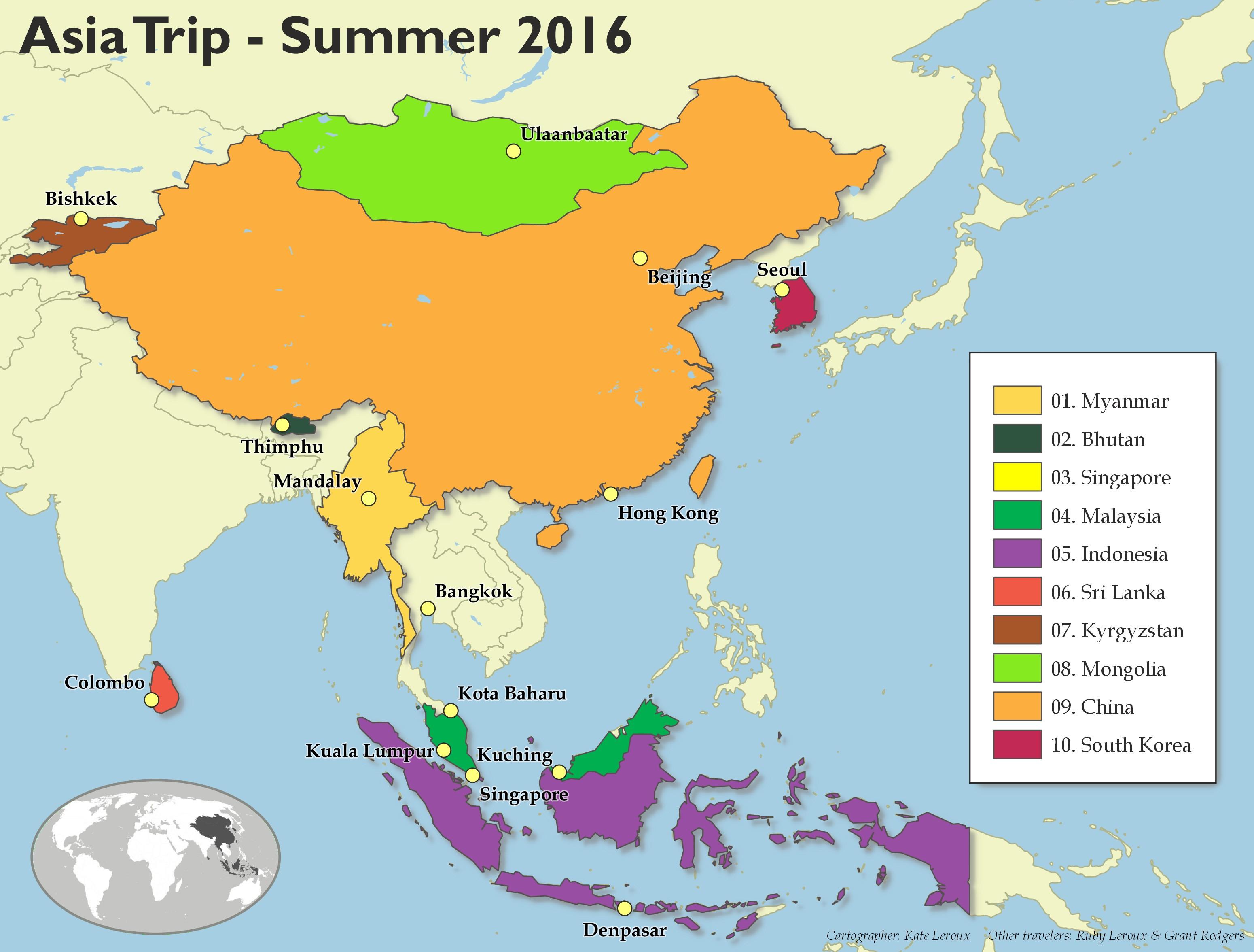 Asia-trip-map